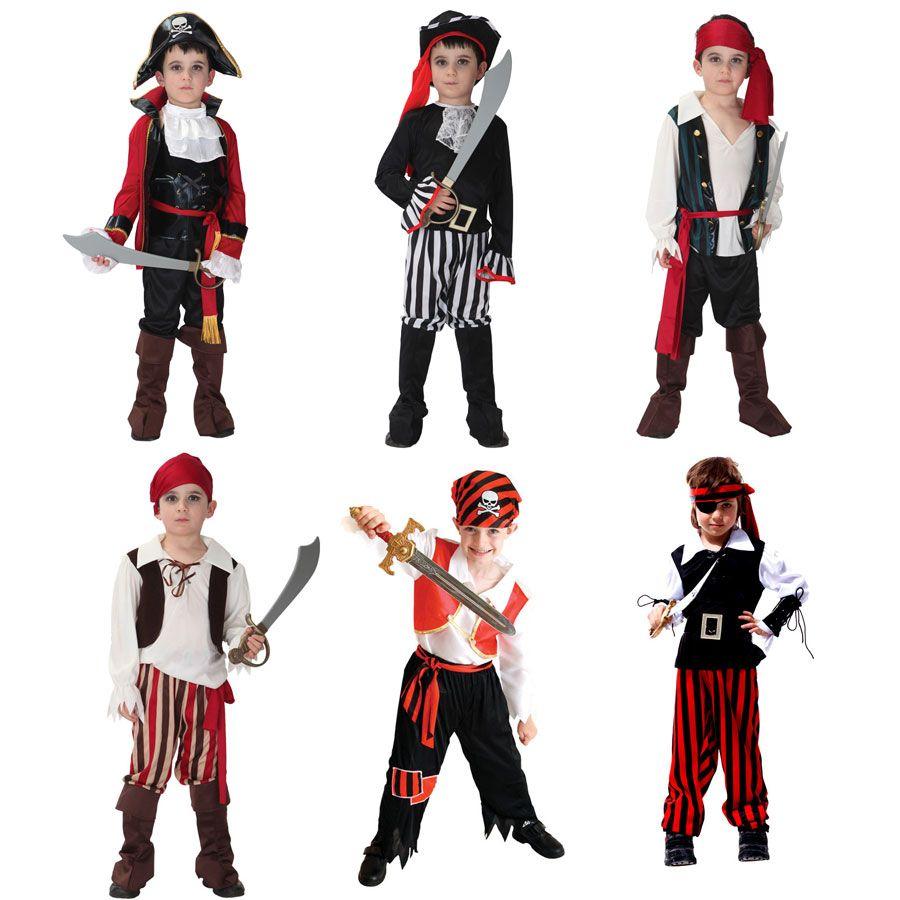 Костюм на Хэллоуин для мальчиков Обувь для мальчиков детская пиратские костюмы Fantasia Infantil Карнавальная одежда