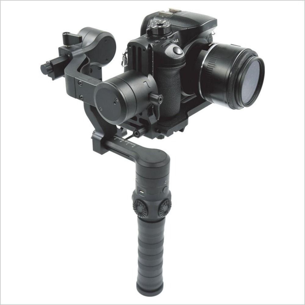 ISTEADY Drei Achsen Hand Gimbal Professionelle Kamera Stabilisator mit Kompakte Luftfahrt-aluminium-struktur GS3