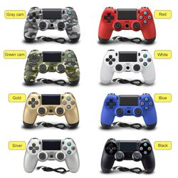New USB Filaire Gamepad Contrôleur Pour PS4 Contrôleur Pour Sony Playstation 4 DualShock Vibration Joystick Gamepads Pour PC jeu