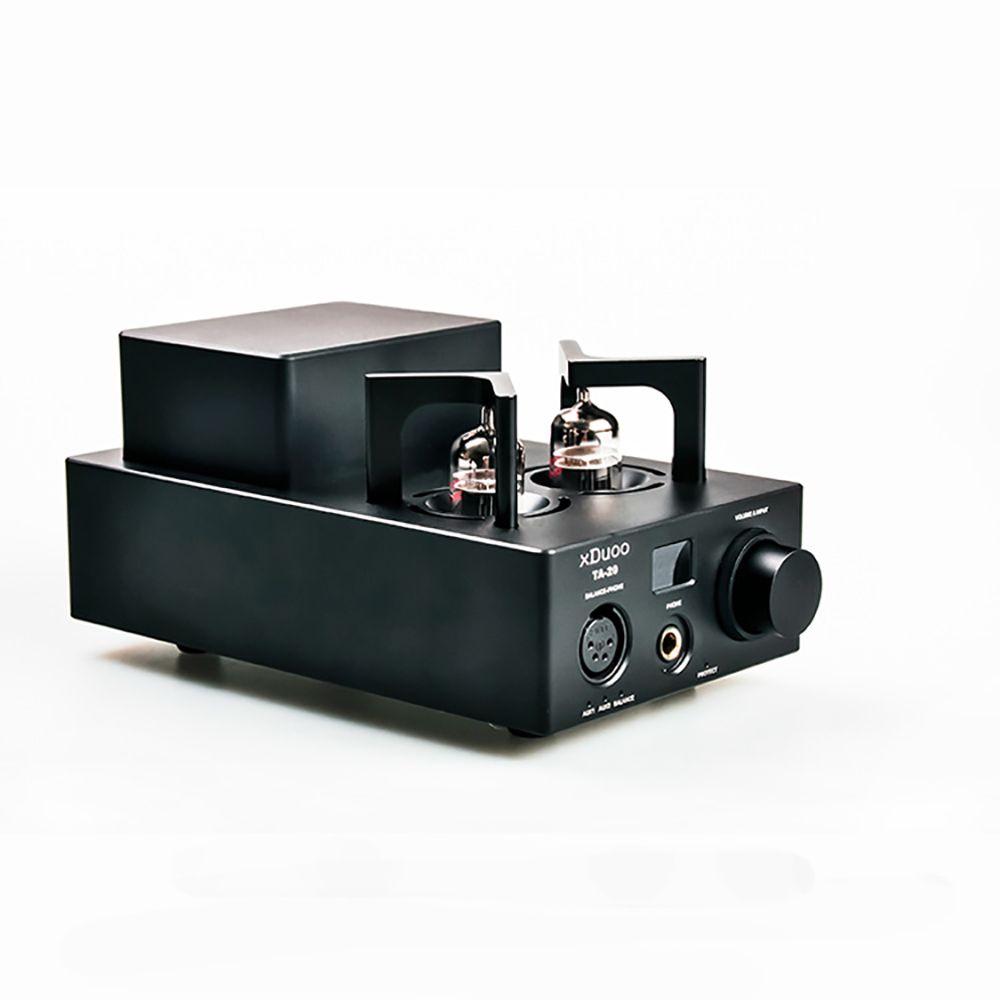 XDUOO TA-20 Hohe Leistung Ausgewogene 12AU7 Rohr Kopfhörer Verstärker Power Verstärker AUX Pre-AMP
