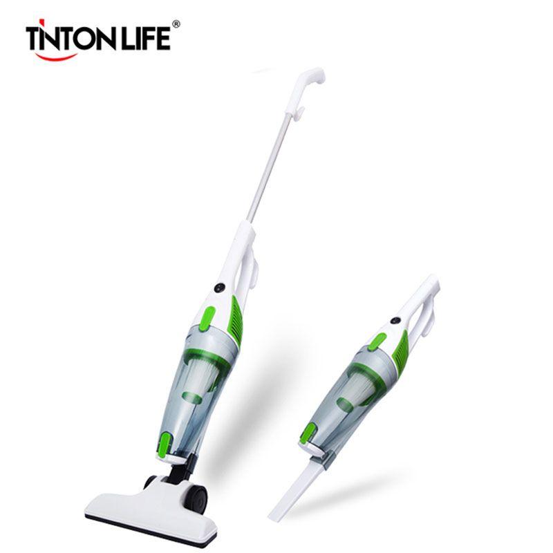 TINTONLIFE Portable <font><b>Ultra</b></font>-quiet Vacuum Cleaner Mini Handheld Suction Machine Mite Terminator