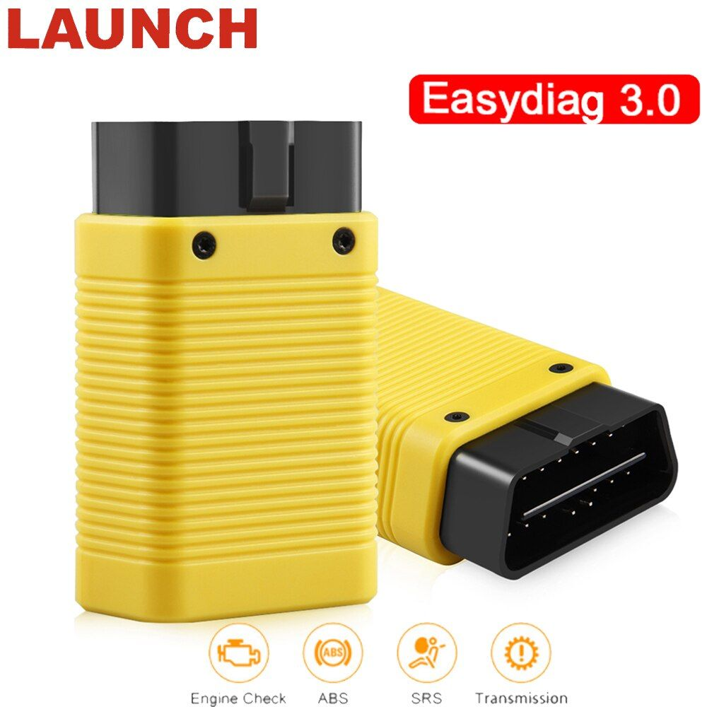 Launch X431 Easydiag 3.0 Plus Automotive obd2 Diagnostic Tool for Android OBD 2 Bluetooth Adapter scanner good than easydiag 2.0