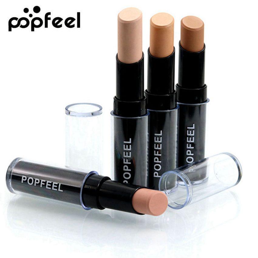 POPFEEL Gesicht Pro Concealer Palette Creme Corrector Concealer Contour Bronzer Primer Make-Up Camouflage Concealer Stick Stift