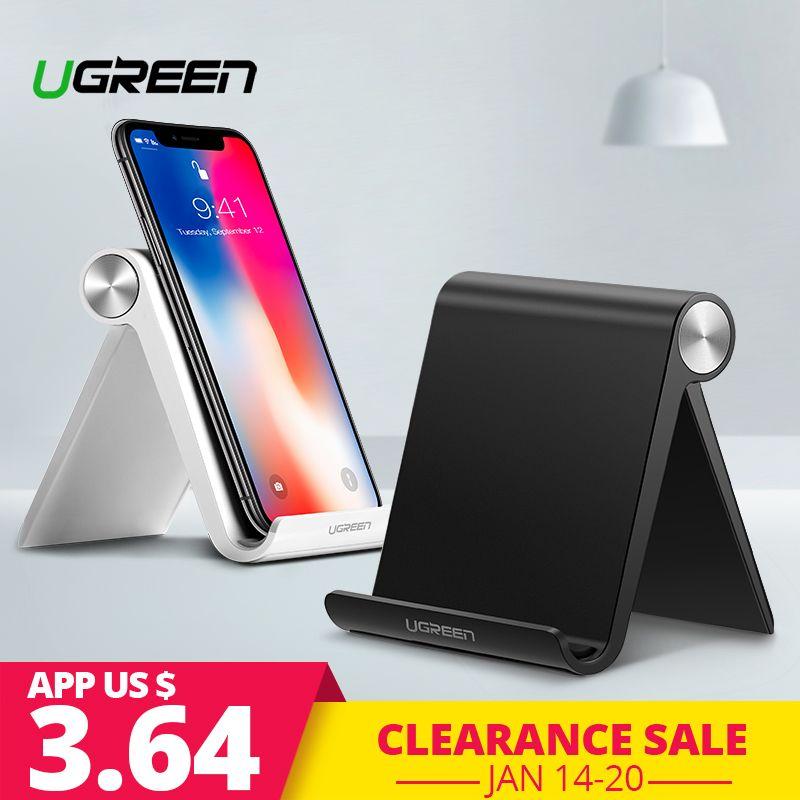 Ugreen Telefon Halter Stehen für iPhone 8X7 6 Faltbare Handy Ständer für Samsung Galaxy S9 S8 Tablet stand Schreibtisch Telefon Halter