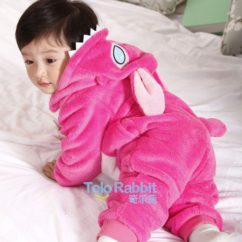 Tolo Rabbit 2017 Spring Autumn Baby Clothes Flannel Baby Boys Clothes Cartoon Animal Jumpsuits Infant Girl Rompers Baby Clothing