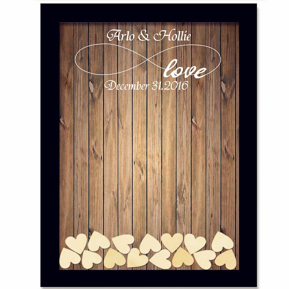 Wedding Guest Book Wedding Decoration Rustic <font><b>Sweet</b></font> Wedding Guestbook 120pcs Small Wood Hearts