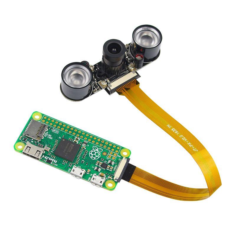 Raspberry Pi <font><b>Zero</b></font> Camera Focal Adjustable 5MP Webcam Night Vision Camera Module for Raspberry Pi <font><b>Zero</b></font> W