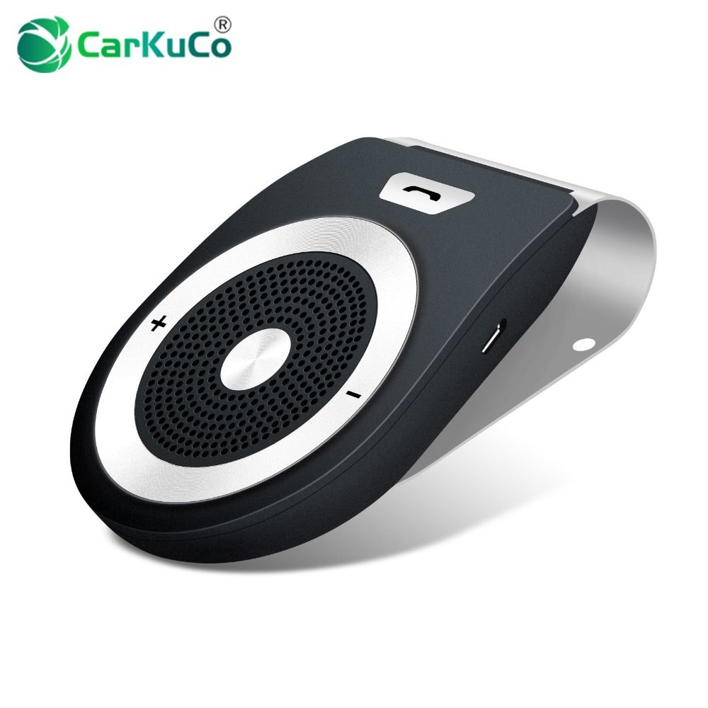 Car Bluetooth Handsfree Kit Audio Receiver for Phone Calls Auto Bluetooth Speaker High Quality AUX USB Bloototh Car Handfree Kit