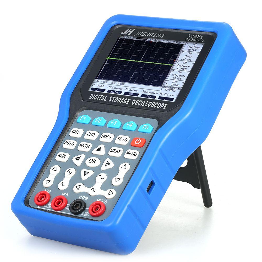 Handheld oszilloskop Digital-oszilloskop 2 Kanäle Lagerung usb oszilloskop logic analyzer 30 MHz Multimeter + Signal Generator