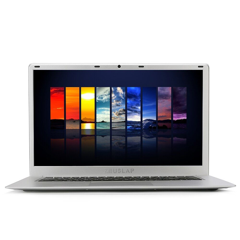 15.6inch Ultrathin 6GB Ram 128GB SSD Intel Quad Core CPU Windows 10 System Fast Run Ultrabook Laptop Notebook Computer