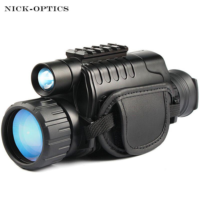 Monokulare Nachtsicht infrarot Digitale Umfang für Jagd Teleskop langstrecken mit integrierte Kamera Schießen Foto Recording Video