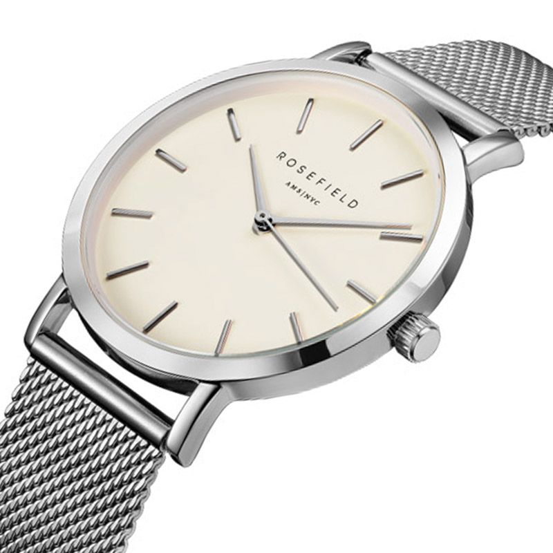 Nuevo anuncio cuero del cuarzo movimiento de cuarzo resistente al agua 3ATM reloj mujeres hombres famosos marca negocio reloj