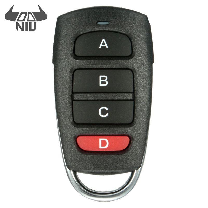 Hot Sale DANIU Universal Cloning Cloner 433mhz Electric Gate Garage Door Remote Control Key Fob Security Protection Alarm
