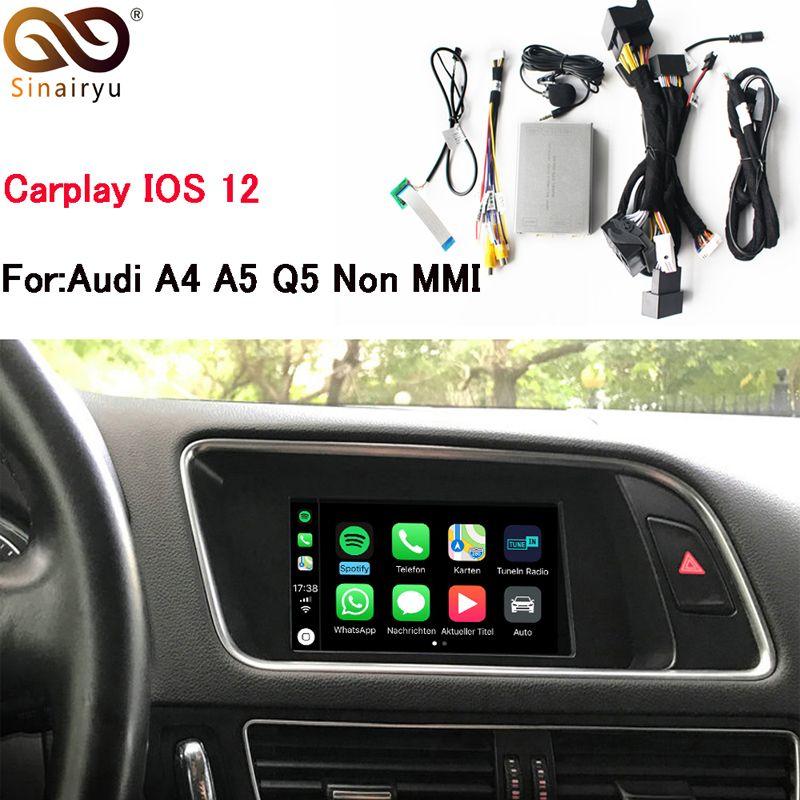 Sinairyu OEM Apple Carplay IOS Airplay Android Auto Retrofit Upgrade A4 A5 Q5 S5 Symphony No MMI for Audi