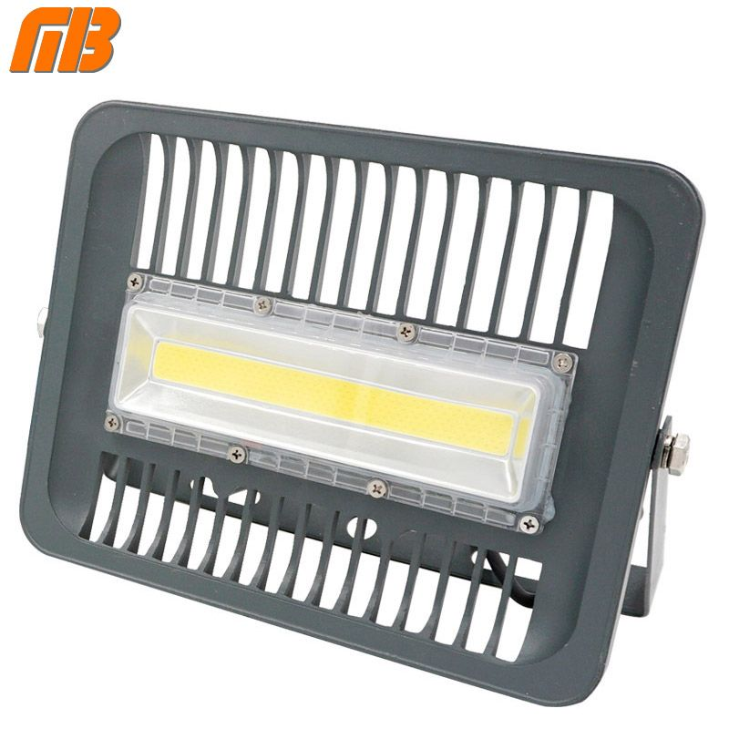 [MingBen] LED Flood <font><b>Light</b></font> Projector IP66 WaterProof 30W 50W 70W 100W 220V 230V 110V LED FloodLight Spotlight Outdoor Wall Lamp