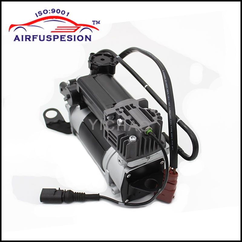 Free Shipping for Audi A6 C6 4F S6 A6L Avant Air Compressor pump Airmatic Air Suspension Shock 4F0616005E 4F0616006 4F0616006A