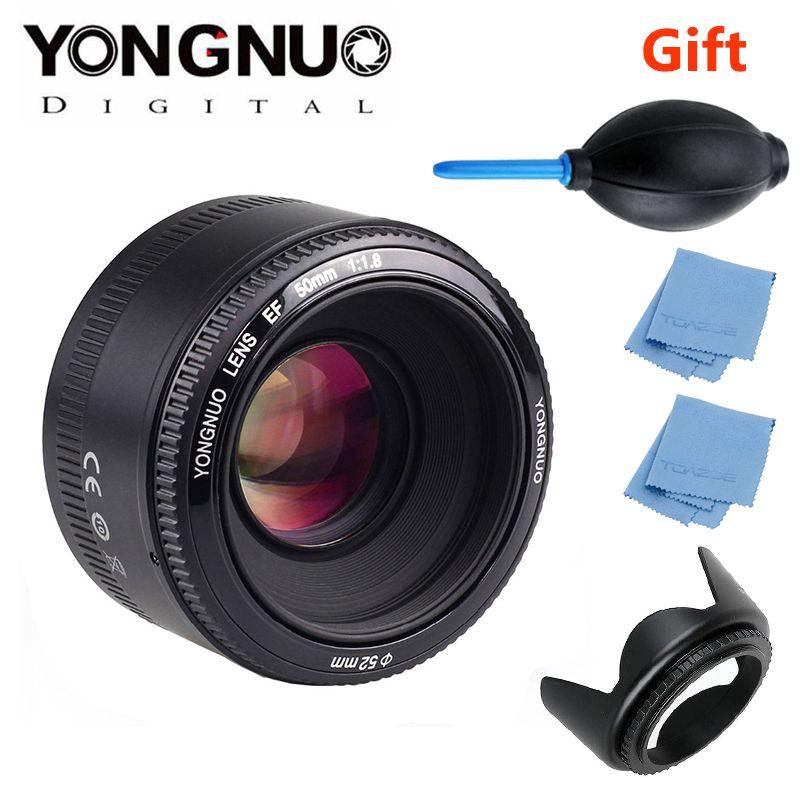 YONGNUO YN50mm f1.8 YN EF <font><b>50mm</b></font> f/1.8 AF/MF Lens Large Aperture Auto Focus for Canon EOS DSLR Cameras