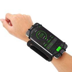 4-5.5in Lari Ponsel Gelang 180 Derajat Diputar Lari Sabuk Pergelangan Tangan Tali Bersepeda Jogging Gym Lengan Band Tas untuk iPhone