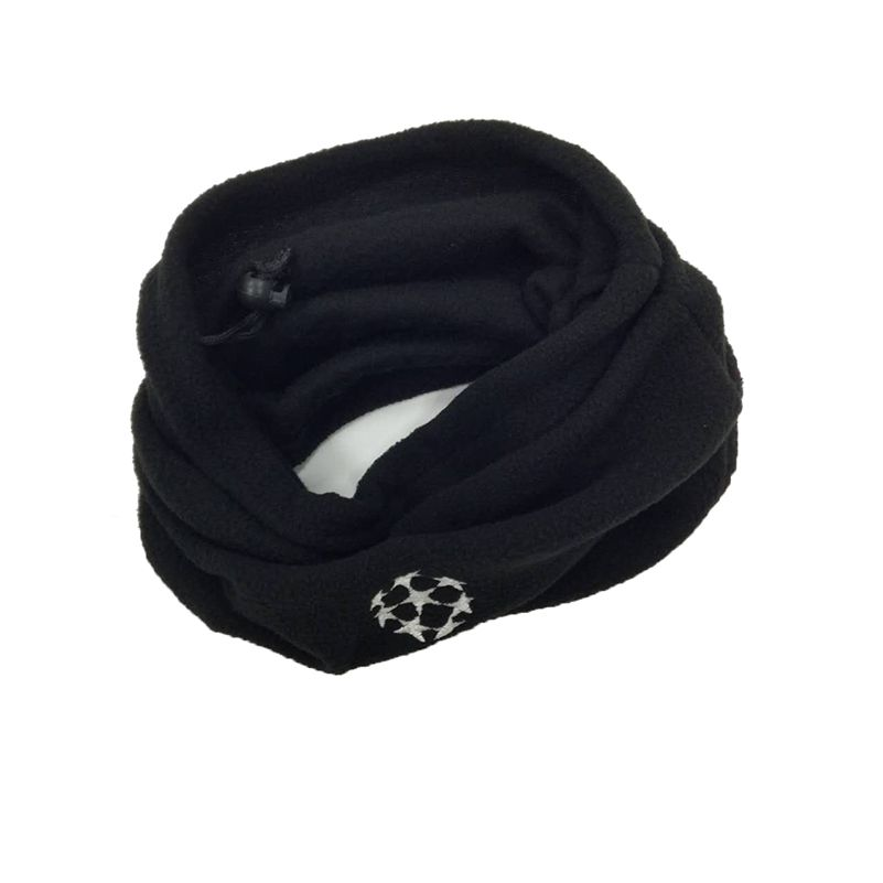 Dual-use Scarf Football Neckerchief Soccer Scarf Outdoor Sports Windproof Multifunctional Fleece Warm Hat