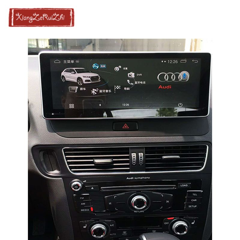 10.25 inch 4GB+64GB OCTA CORE Android car GPS dvd multimedia navigation For AUDI Q5 (2009-2017) with radio/video/USB/WIFI