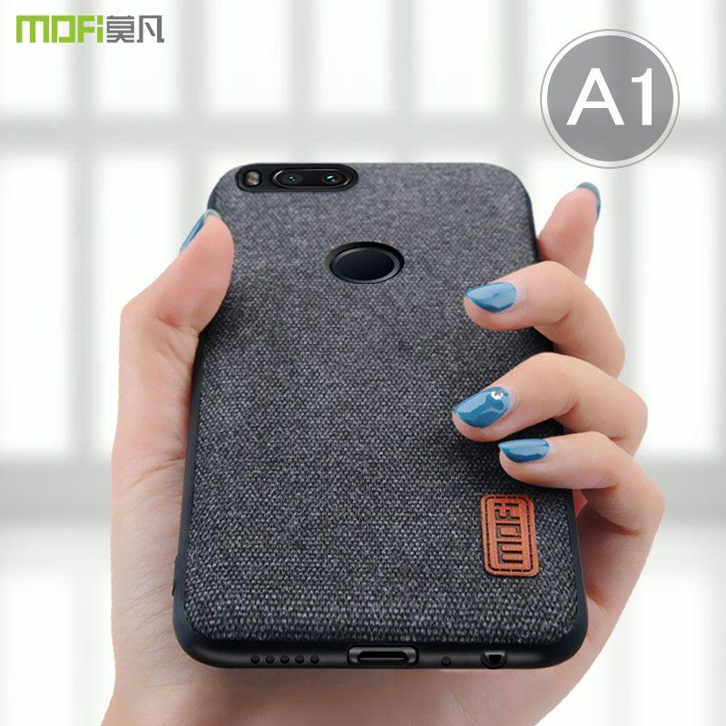 For Xiaomi Mi A1 case cover MOFI for mi 5X Back Full Cover Case MiA1 Soft Silicone TPU Cover for xiaomi mi5x business Case