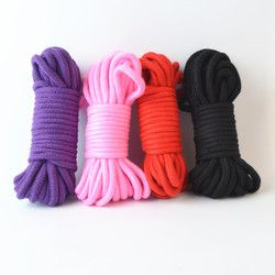 5M 10M SM Rope SM Bondage Rope bdsm sex product for adult femdom bondage sex Cotton Rope For women couples's Game