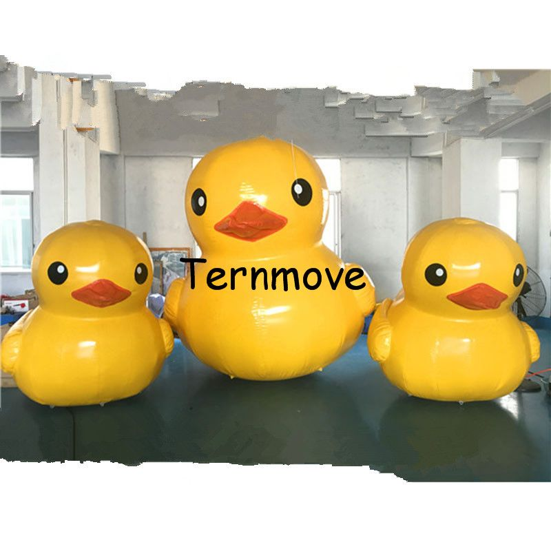inflatable yellow duck rubber duck use for open business ,Commercial activity,exhibition ,Christmas, outdoor advertisin