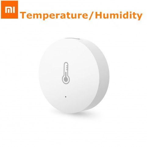 D'origine xiaomi intelligente mini température humidité capteur de poche taille maison intelligente automatique pour la maison intelligente suite