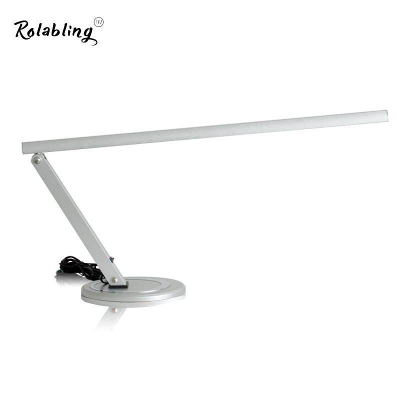 Rolabling New Arrival Eye Protection EU Plug 12W Small Table Lamp 220V Desk Lamp Little Convinent Reading Lamp For Manicure Art