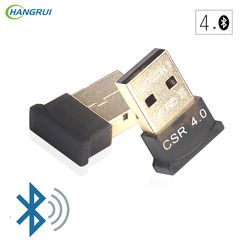 HANGRUI bluetooth transmitter wireless adapter USB Audio Receiver V4.0 Dual Mode Bluetooth Dongle For PC Laptop Computer