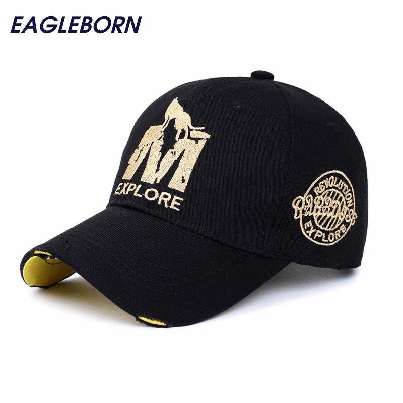 [EB] casquette de marque en gros casquette de baseball chapeau ajusté casquette décontractée gorras 6 panneaux hip hop snapback chapeaux casquette de loup pour hommes femmes unisexe