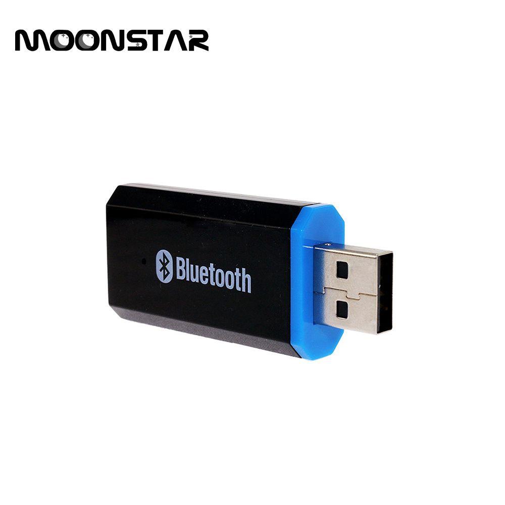 MOON Stereo erweiterte audio Auto Bluetooth Mp3 Usb Auto Bluetooth 2,1 mt freisprecheinrichtung Aux Verdrahtet Adapter Auto bluetooth empfänger