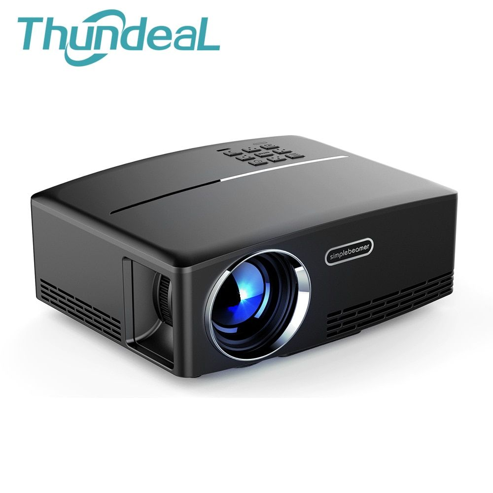 ThundeaL GP80 GP80UP GP70 Mis À Jour Android 6.0 mini projecteur projecteur led lcd VGA HDMI En Option Bluetooth Sans Fil WIFI Beamer