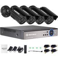 DEFEWAY 8CH CCTV системы 1200TVL CCTV камера охранных товары теле и видеонаблюдения комплект 720 P AHD DVR HD 720P Крытый камера