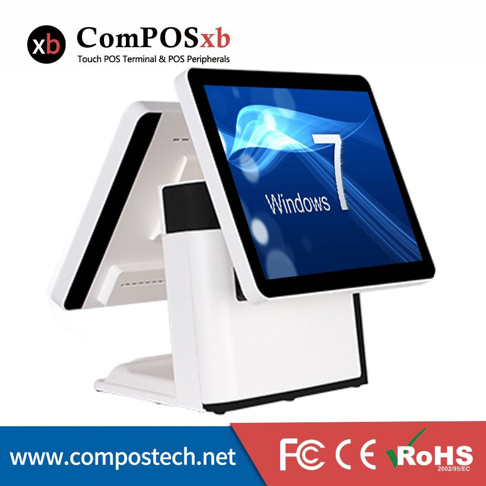 Free Shipping 15'' Touch Screen All in One POS System/Cash Register/Cashier POS Machine for restaurant