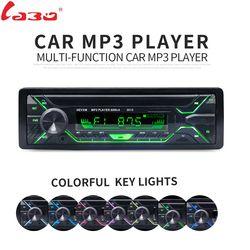 LaBo De Voiture Radio Stéréo Lecteur Bluetooth Téléphone AUX-IN MP3 FM/USB/1 Din/télécommande 12 V Audio de voiture Auto 2018 Vente Nouveau