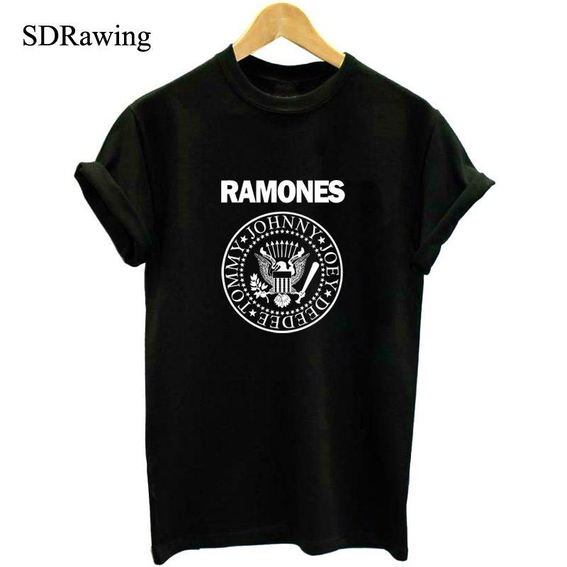 Rock Band Nirvana Ramones Men T Shirts One Direction//The Beatles Hip Hop t-shirts Gorillaz