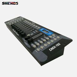 Бесплатная доставка Новый 192 DMX контроллер сценическое освещение DJ оборудование пульт DMX светодио дный для LED Par движущаяся головка прожекто...