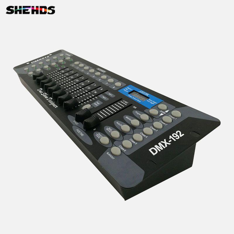 Free shipping NEW 192 DMX Controller Stage Lighting DJ equipment DMX Console for LED Par <font><b>Moving</b></font> Head Spotlights DJ Controller