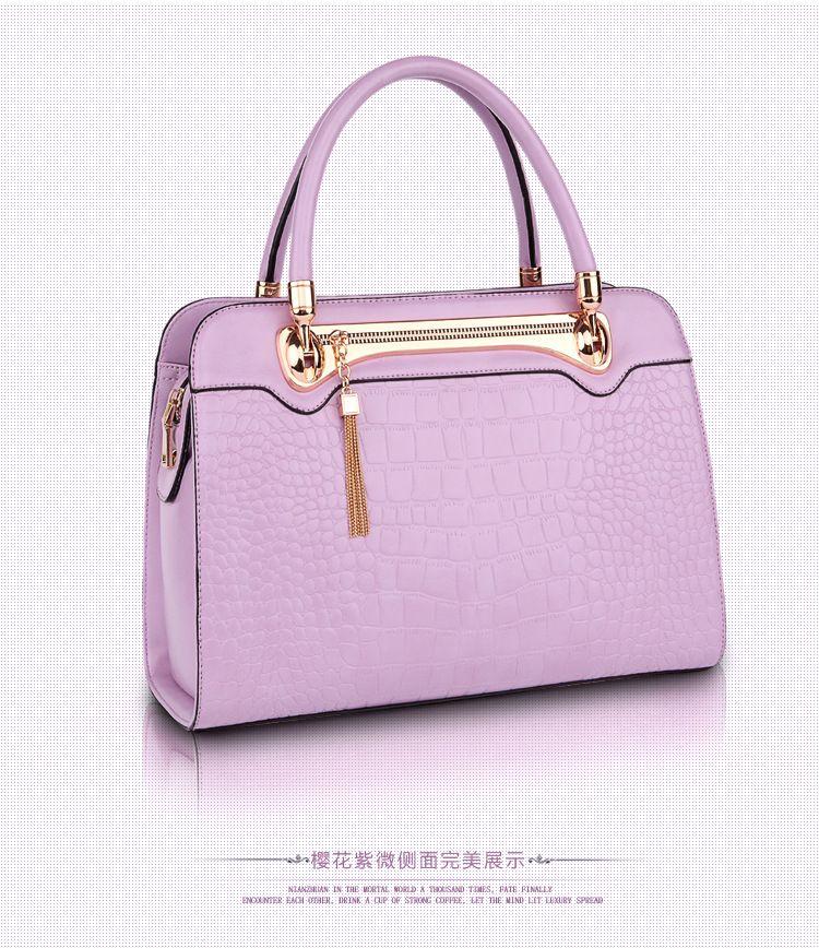Shengdilu Fashion Leather Women <font><b>Shoulder</b></font> Bags Famous Designer Vintage Tassel Large Women Messenger Bags Ladies Tote Bags