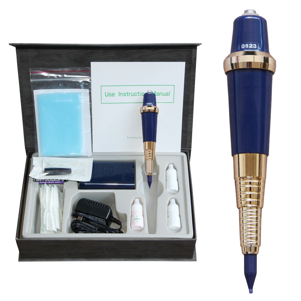 High Quality Original Taiwan Wagner USA Giant Sun Eyebrow Eyeliner Lip Tattoo Machine Tattoo Kit For Permanent Makeup