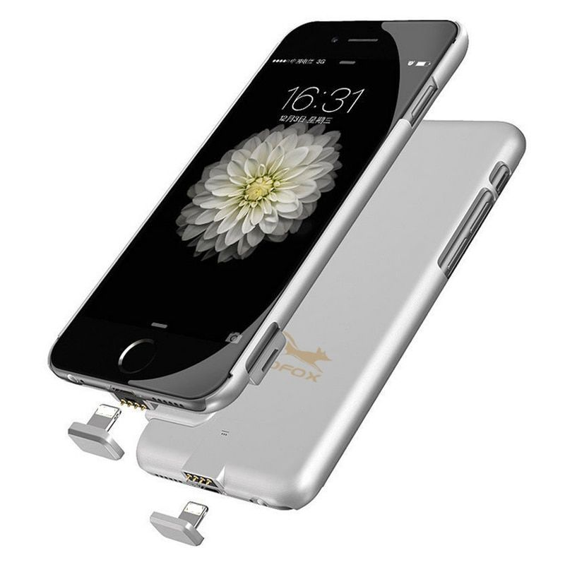 For iPhone 6 6s 7 Plus 1500mah/2000mah Portable External Power <font><b>Bank</b></font> Battery Charger Case For iphone 6 6S 7 Battery Case Cover