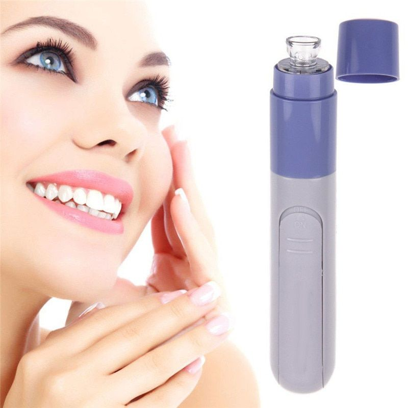 Mini Electric Facial Pore Cleanser Skin Cleaner Face Dirt Suck Up Vacuum Acne Pimple Tool Remover Blackhead Clean Massage Tools