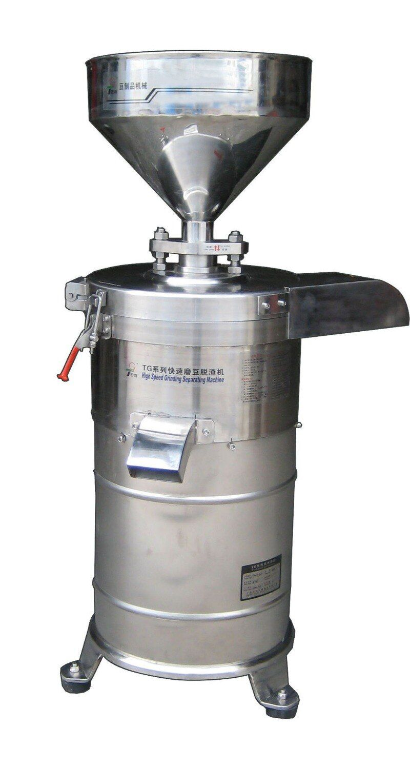 Free shipping 130 Model automatically soybean milk grinder milk and slag separate Soya bean milk grinding machine