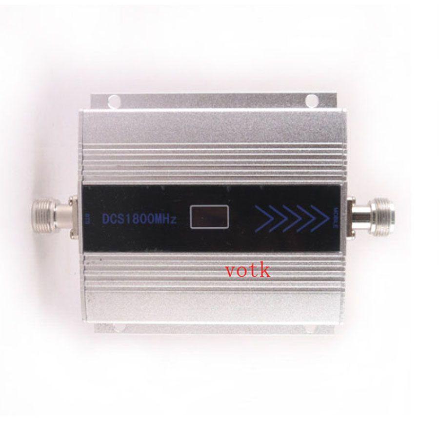 1800 MHz Mobile Téléphone DCS Signal Booster 4G DCS 1800 MHz Répéteur de Signal, cellulaire Téléphone DCS signal Amplificateur + Adaptateur