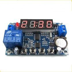 Gratis pengiriman 12 V Jam Timer Controller 24 H Waktu Tiga Kelompok Waktu Kontrol Memori Modul