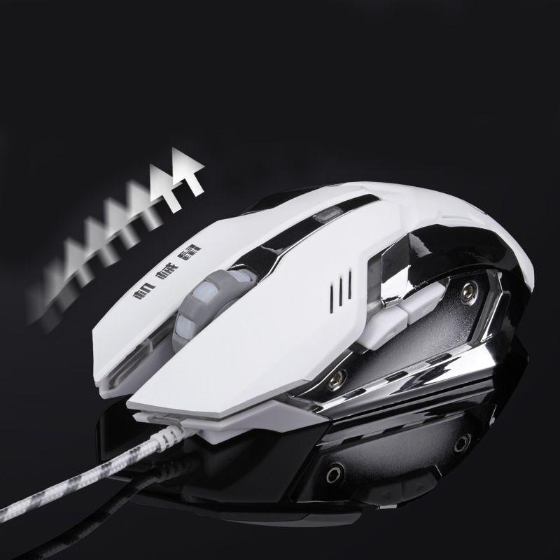 Souris de jeu filaire mause réglable DPI LED souris USB optique souris câble pour Pro Gamer ligue de légende/Dota2 livraison gratuite
