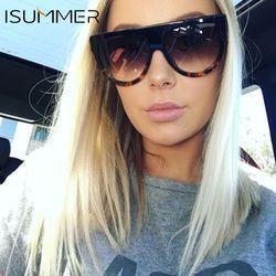 ISummer lunettes de Soleil Femmes Gradient Lentille lunettes de Soleil Hommes Plein Cadre Nuances Marque Designer Dames Lunettes Unisexe oculos Gros