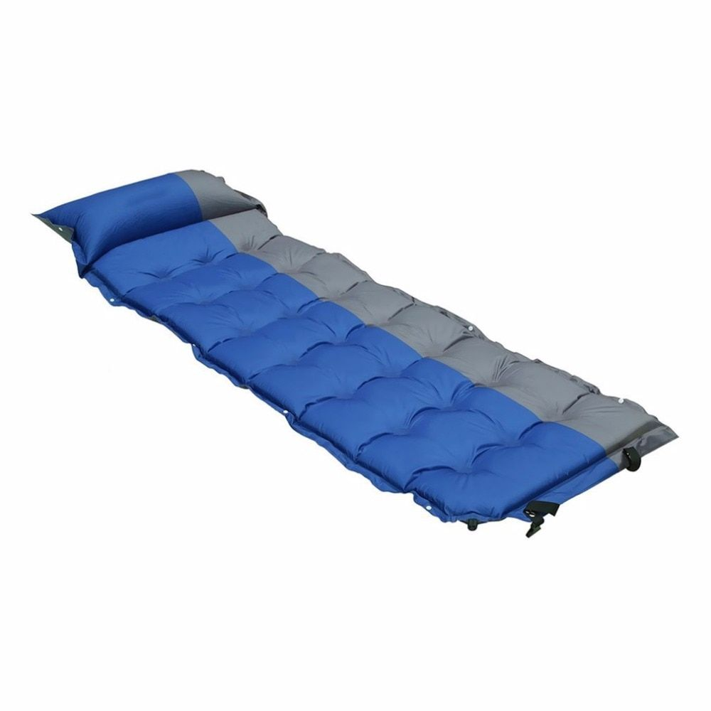 Automatic Inflatable Waterproof Self-Inflating Dampproof Sleeping Pad Tent Mat Picnic Outdoor Camping Air Mattress
