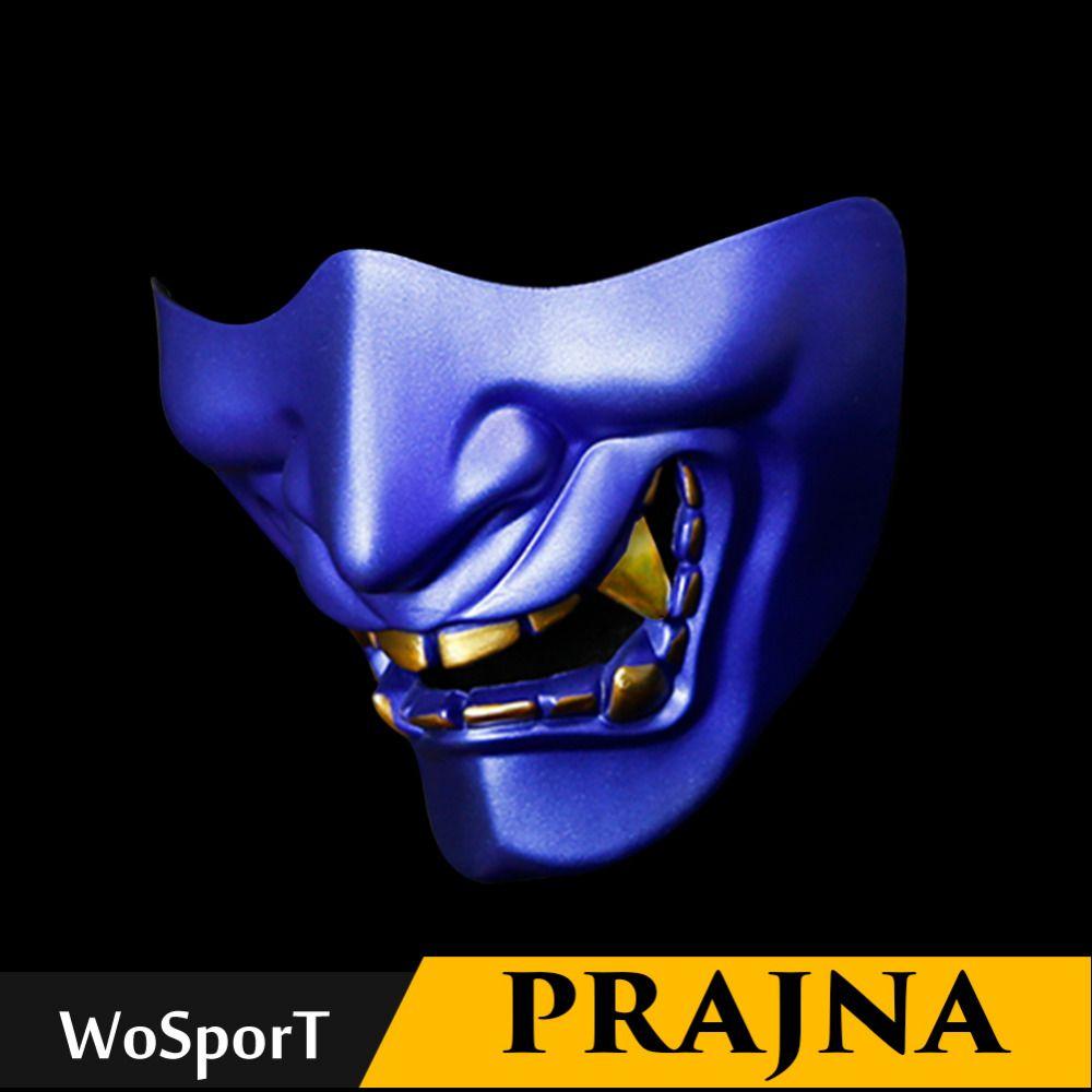 Airsoft Paintball Maske Brille Hannya Maske Halloween Maske Armee von 2 BB Pistole Paintball Prajna Maske Jagd Zubehör Party Prop